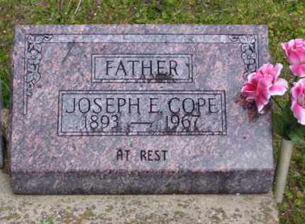 COPE, JOSEPH E - Baxter County, Arkansas | JOSEPH E COPE - Arkansas Gravestone Photos