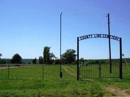 *, *COUNTY LINE CEMETERY GATE - Baxter County, Arkansas | *COUNTY LINE CEMETERY GATE * - Arkansas Gravestone Photos
