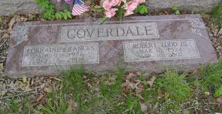 COVERDALE III, ROBERT TODD - Baxter County, Arkansas | ROBERT TODD COVERDALE III - Arkansas Gravestone Photos
