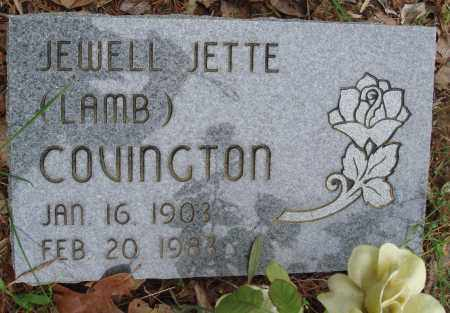 COVINGTON, JEWELL JETTE - Baxter County, Arkansas | JEWELL JETTE COVINGTON - Arkansas Gravestone Photos