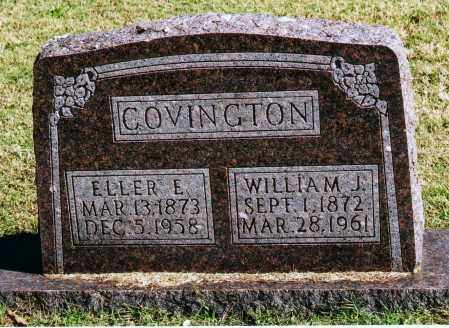 COVINGTON, WILLIAM J. - Baxter County, Arkansas | WILLIAM J. COVINGTON - Arkansas Gravestone Photos