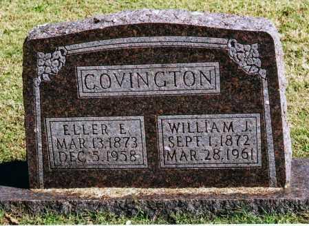 COVINGTON, ELLER E. - Baxter County, Arkansas | ELLER E. COVINGTON - Arkansas Gravestone Photos