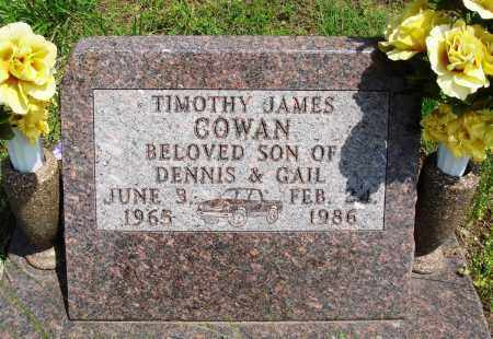 COWAN, TIMOTHY JAMES - Baxter County, Arkansas | TIMOTHY JAMES COWAN - Arkansas Gravestone Photos