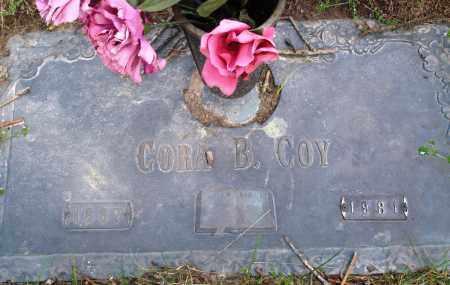 COY, CORA B - Baxter County, Arkansas | CORA B COY - Arkansas Gravestone Photos