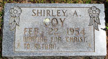 COY, SHIRLEY A - Baxter County, Arkansas | SHIRLEY A COY - Arkansas Gravestone Photos
