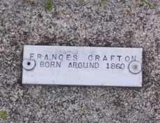 CRAFTON, FRANCES - Baxter County, Arkansas | FRANCES CRAFTON - Arkansas Gravestone Photos