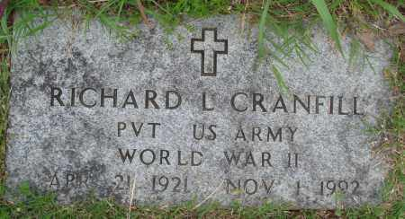 CRANFILL (VETERAN WWII), RICHARD L - Baxter County, Arkansas | RICHARD L CRANFILL (VETERAN WWII) - Arkansas Gravestone Photos