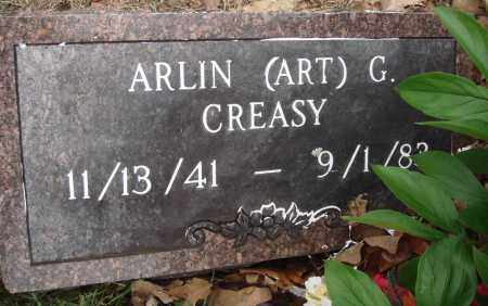 "CREASY, ARLIN G ""ART"" - Baxter County, Arkansas 