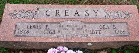 CREASY, ORA B - Baxter County, Arkansas | ORA B CREASY - Arkansas Gravestone Photos