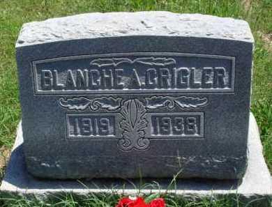 CRIGLER, BLANCHE A. - Baxter County, Arkansas | BLANCHE A. CRIGLER - Arkansas Gravestone Photos