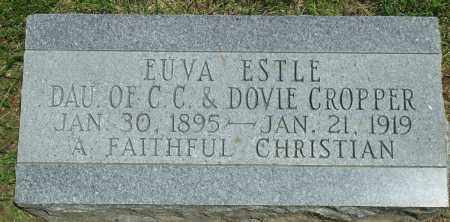 CROPPER, EUVA ESTLE - Baxter County, Arkansas | EUVA ESTLE CROPPER - Arkansas Gravestone Photos