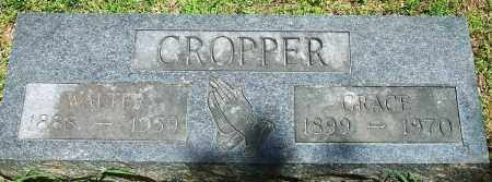 CROPPER, ELBERT WALTER - Baxter County, Arkansas | ELBERT WALTER CROPPER - Arkansas Gravestone Photos