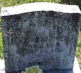 CROWNOVER, B. F. - Baxter County, Arkansas | B. F. CROWNOVER - Arkansas Gravestone Photos