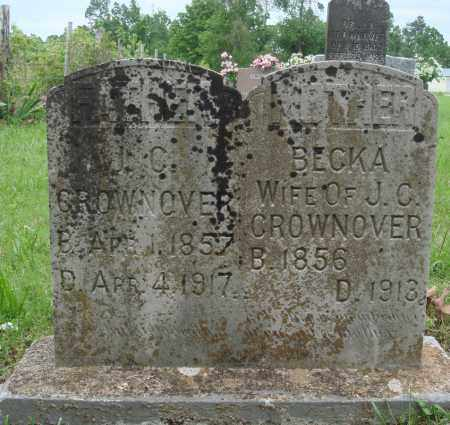 BURR CROWNOVER, BECKA - Baxter County, Arkansas | BECKA BURR CROWNOVER - Arkansas Gravestone Photos