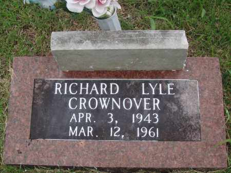 CROWNOVER, RICHARD LYLE - Baxter County, Arkansas | RICHARD LYLE CROWNOVER - Arkansas Gravestone Photos