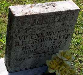 CROWNOVER, VICENE - Baxter County, Arkansas | VICENE CROWNOVER - Arkansas Gravestone Photos