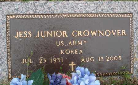 CROWNOVER (VETERAN KOR), JESS JUNIOR - Baxter County, Arkansas | JESS JUNIOR CROWNOVER (VETERAN KOR) - Arkansas Gravestone Photos