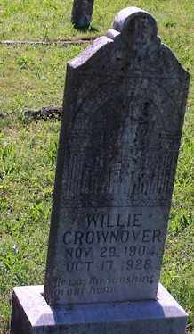 CROWNOVER, WILLIE - Baxter County, Arkansas | WILLIE CROWNOVER - Arkansas Gravestone Photos