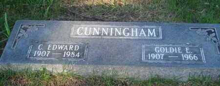 CUNNINGHAM, C. EDWARD - Baxter County, Arkansas | C. EDWARD CUNNINGHAM - Arkansas Gravestone Photos