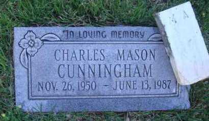 CUNNINGHAM, CHARLES MASON - Baxter County, Arkansas | CHARLES MASON CUNNINGHAM - Arkansas Gravestone Photos
