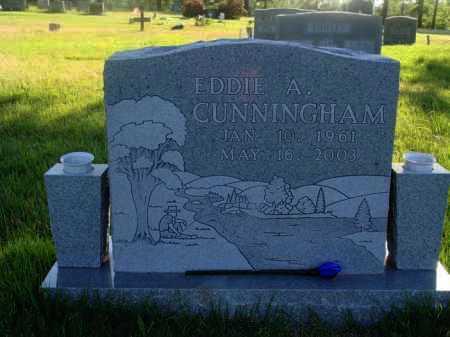 CUNNINGHAM, EDDIE A. - Baxter County, Arkansas | EDDIE A. CUNNINGHAM - Arkansas Gravestone Photos