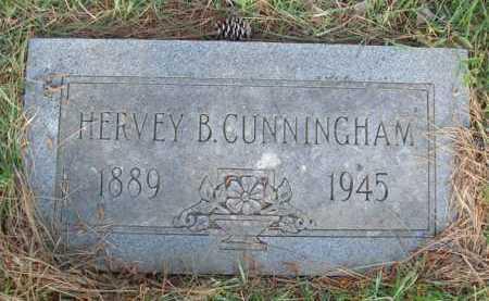CUNNINGHAM, HERVEY B. - Baxter County, Arkansas   HERVEY B. CUNNINGHAM - Arkansas Gravestone Photos