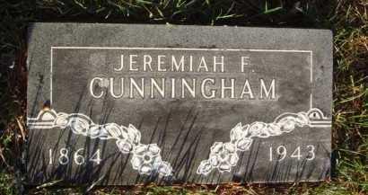 CUNNINGHAM, JEREMIAH F. - Baxter County, Arkansas | JEREMIAH F. CUNNINGHAM - Arkansas Gravestone Photos