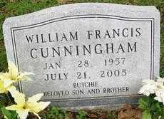 CUNNINGHAM, WILLIAM FRANCIS