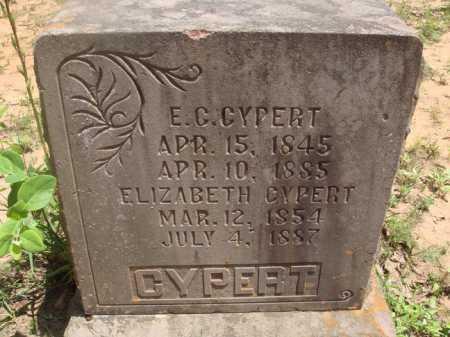CYPERT, ELIZABETH - Baxter County, Arkansas | ELIZABETH CYPERT - Arkansas Gravestone Photos