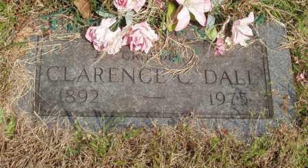 DALL, CLARENCE C - Baxter County, Arkansas | CLARENCE C DALL - Arkansas Gravestone Photos