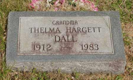 HARGETT DALL, THELMA - Baxter County, Arkansas | THELMA HARGETT DALL - Arkansas Gravestone Photos