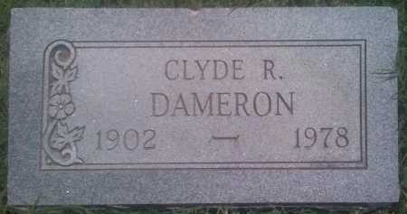 DAMERON, CLYDE R. - Baxter County, Arkansas | CLYDE R. DAMERON - Arkansas Gravestone Photos