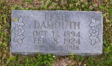 DAMOUTH, ELSIE - Baxter County, Arkansas | ELSIE DAMOUTH - Arkansas Gravestone Photos