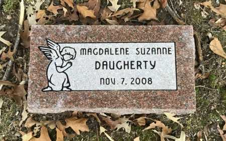 DAUGHERTY, MAGDALENE SUZANNE - Baxter County, Arkansas | MAGDALENE SUZANNE DAUGHERTY - Arkansas Gravestone Photos