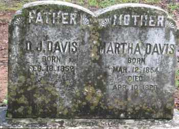 DAVIS, DAVID J. - Baxter County, Arkansas | DAVID J. DAVIS - Arkansas Gravestone Photos