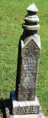 DAVIS, ELIZA - Baxter County, Arkansas | ELIZA DAVIS - Arkansas Gravestone Photos