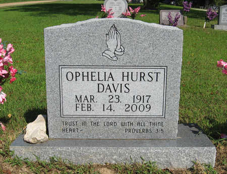 DAVIS, OPHELIA - Baxter County, Arkansas | OPHELIA DAVIS - Arkansas Gravestone Photos