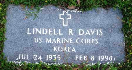 DAVIS (VETERAN KOR), LINDELL R - Baxter County, Arkansas | LINDELL R DAVIS (VETERAN KOR) - Arkansas Gravestone Photos