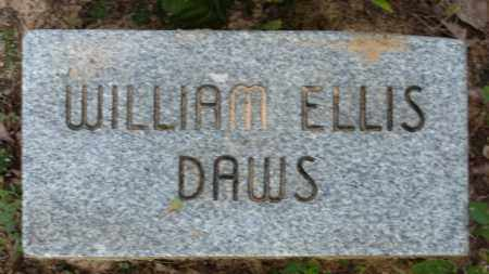 DAWS, WILLIAM ELLIS - Baxter County, Arkansas | WILLIAM ELLIS DAWS - Arkansas Gravestone Photos