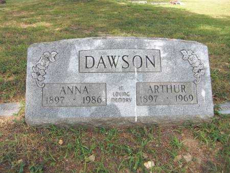 DAWSON, ARTHUR - Baxter County, Arkansas | ARTHUR DAWSON - Arkansas Gravestone Photos