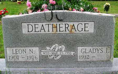 DEATHERAGE, LEON N - Baxter County, Arkansas | LEON N DEATHERAGE - Arkansas Gravestone Photos