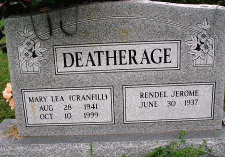 DEATHERAGE, MARY LEA - Baxter County, Arkansas | MARY LEA DEATHERAGE - Arkansas Gravestone Photos