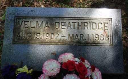 DEATHERAGE, VELMA - Baxter County, Arkansas | VELMA DEATHERAGE - Arkansas Gravestone Photos