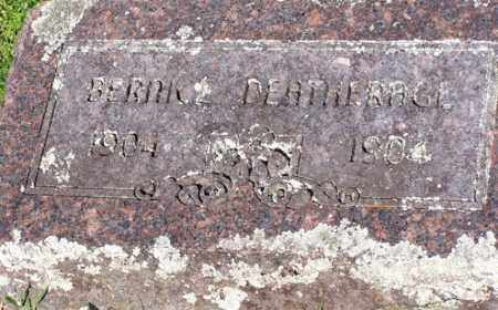 DEATHRAGE, BERNICE - Baxter County, Arkansas | BERNICE DEATHRAGE - Arkansas Gravestone Photos