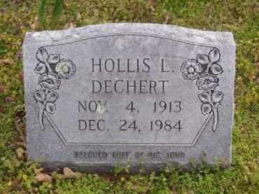 DECHERT, HOLLIS L. - Baxter County, Arkansas | HOLLIS L. DECHERT - Arkansas Gravestone Photos