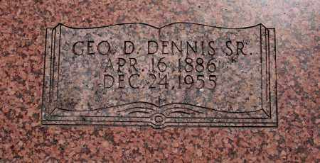 DENNIS SR., GEORGE D. - Baxter County, Arkansas | GEORGE D. DENNIS SR. - Arkansas Gravestone Photos