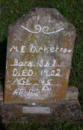 DICKERSON (1), MARY ELLEN - Baxter County, Arkansas | MARY ELLEN DICKERSON (1) - Arkansas Gravestone Photos