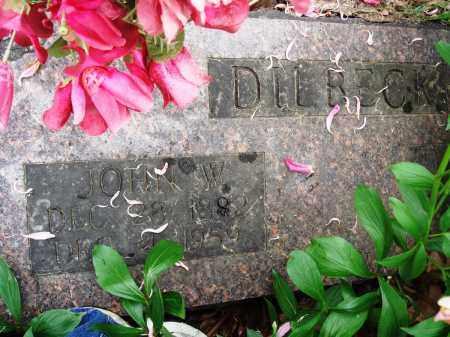 DILBECK, JOHN W - Baxter County, Arkansas | JOHN W DILBECK - Arkansas Gravestone Photos