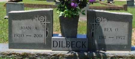 DILBECK, REX O. - Baxter County, Arkansas | REX O. DILBECK - Arkansas Gravestone Photos