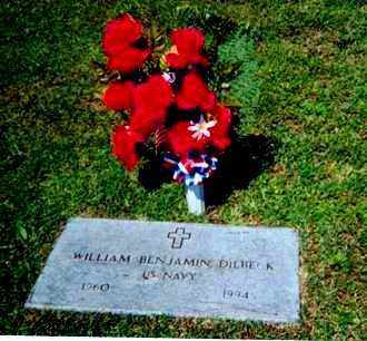 DILBECK (VETERAN), WILLIAM BENJAMIN 'BEN' - Baxter County, Arkansas | WILLIAM BENJAMIN 'BEN' DILBECK (VETERAN) - Arkansas Gravestone Photos